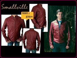 Red Superman Smallville Jacket by jessicanelson1265