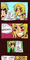 IT HAPPENED. by TheGweny