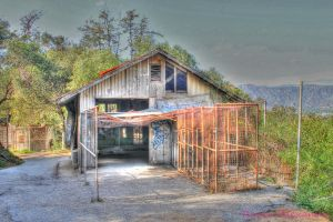 Abandoned Shed HDR by RavenA938