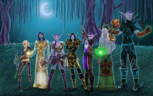Commission: Eternal Star Guild by Paine-MoonG