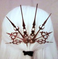 Kismet Steampunk Hair Picks by pervyyaoifancier