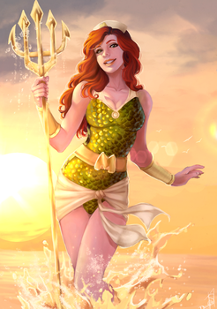 Bombshell Mera by Forty-Fathoms