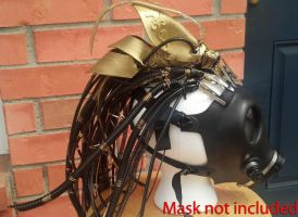 Steampunk Costume Head Piece Cosplay by CyberFreakedd