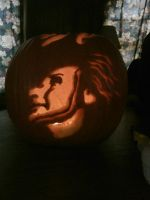 Jack-O-Lantern's become Ray Davies by magnoliastarlight