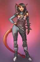 Tiefling Thief by Chacobo