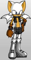 Rouge the Bat-A Male by YaoiFanGirl100
