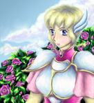FE4 - Among Roses by avroillusion