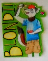 CONBADGE for Blondi by TunnySaysIDK