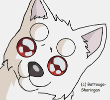 Shiro's Puppy Eyes Animation by Battouga-Sharingan