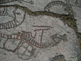 Rock carvings 7 by CAStock
