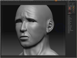 Zbrush Model Sadtimes by Deviant-Incubus