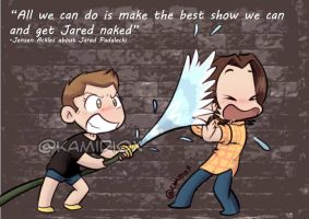 Jensen loves Jared 10 by KamiDiox
