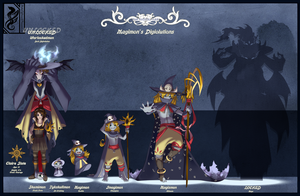 Magi_Digivolution Lineup by ShadowOfSolace