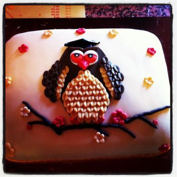 owl cake by Briel74