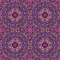Floral mosaic abstract by kawgraphics