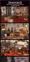 Dragon Age II Misc Props, Decorations and Grounds by Berserker79