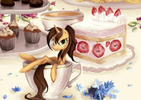 An Extra Slice of Cake by My-Magic-Dream