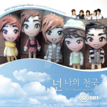 SS501 Digital Single Album handmade by yuisama