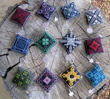 Magical Ornament - Complete Set by Katjakay