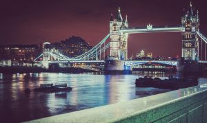 London at night II by air-force-1