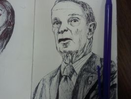 Ballpoint Sketch 3 by danebrown