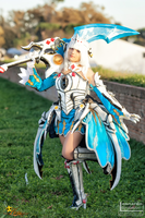 Elesis Evil Tracer - Elsword Cosplay by KICKAcosplay