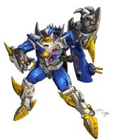 Sky-Byte Botcon tec spec art by Dan-the-artguy