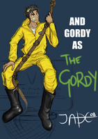 And Gordy as ... THE GORDY by Lycorisu