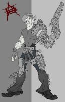 Metal Cowboy by CaptainLuckypants