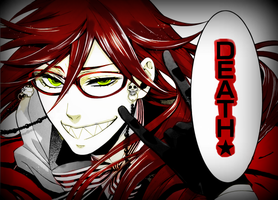 "Grell- ""Death"" by HinariSenjo4818"