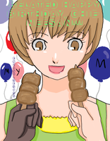 BELATED B-DAY CHIE-NEESAN by EnzanBlues456