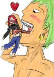 "Poke and Zoro ""Lick"" by Ramiu"