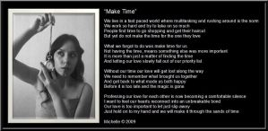 Make Time by VisualPoetress