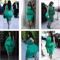 Kim Kardashian weight gain by yobuddie