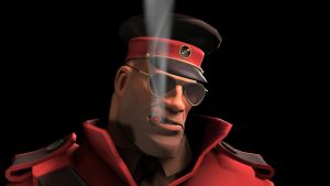 SFM Poster: The Cigar by PatrickJr