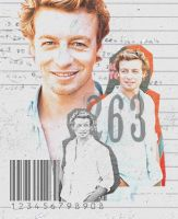 Simon Baker by woodens