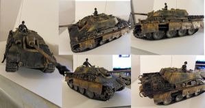 German Jagdpanther by buster126