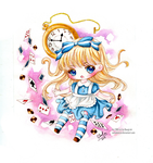 [Chibi] Alice in Wonderland by SonyaBANZAI