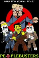Peoplebusters miniMates Poster by Derrico13