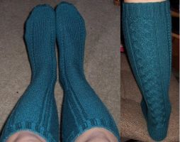 Clessidra Socks by InfiniteNesmith