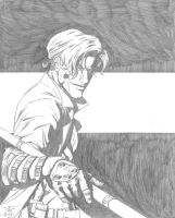 Gambit Deodato Style pre-inked by Shlickdoo