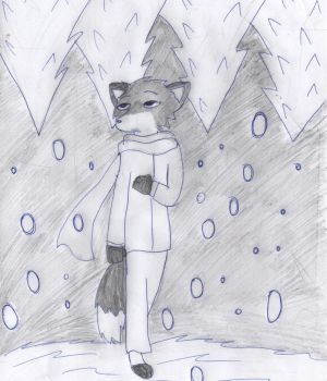 Lost in thoughts by FrinryFennec