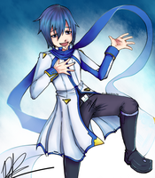 Happy Birthday KAITO by IncubusZenith