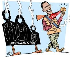 Obama Nobel Peace Laureate by Latuff2