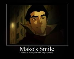 Mako's Smile by gubongee