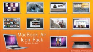MacBook Air Icon Pack by davinci1993