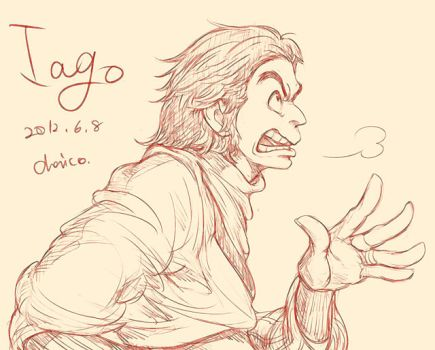 Iago by chacckco