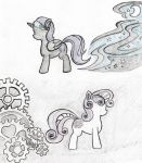 Outlines of our artificial daughters by Grimmyweirdy