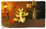 Lonely Night by Teatime-Rabbit