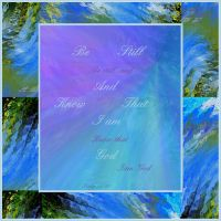 Be Still and know by Buble